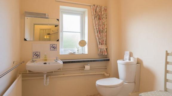 Toilet - W.C. and washbasin