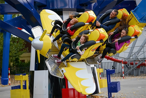 One of the rides at Drayton Manor