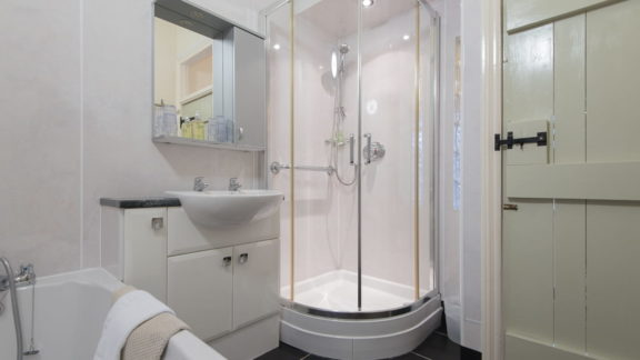 bathroom - with a separate shower cubicle too